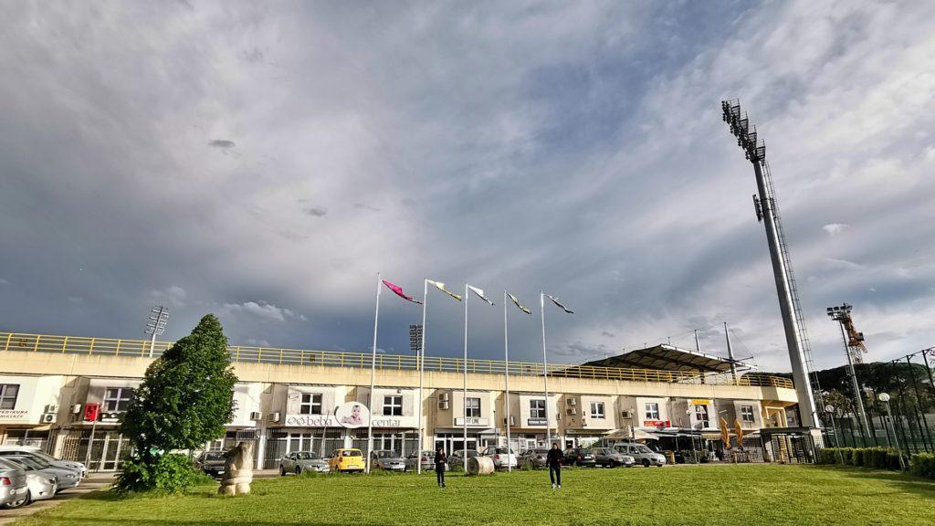 Stadion Aldo Drosina Pula Außenansicht