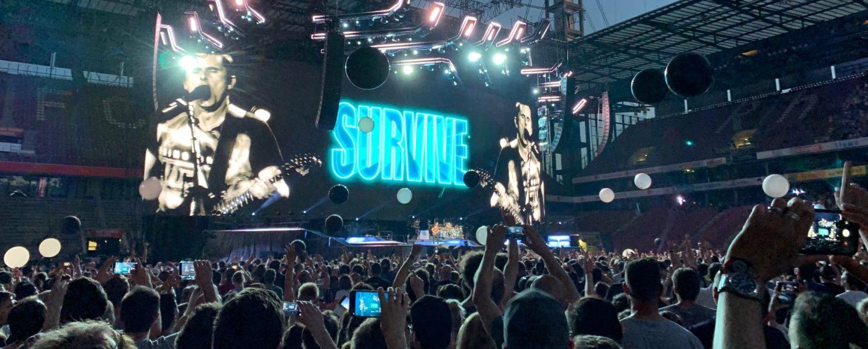 Bild Live Bühnenshow Muse in Köln