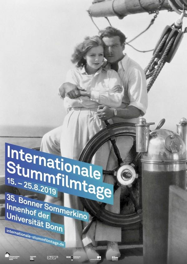 Plakat Internationale Stummfilmtage Bonn