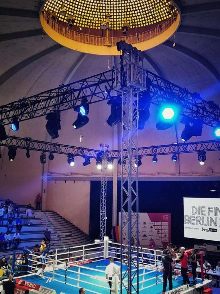 Boxen Kuppelsaal Deutsche Meisterschaft