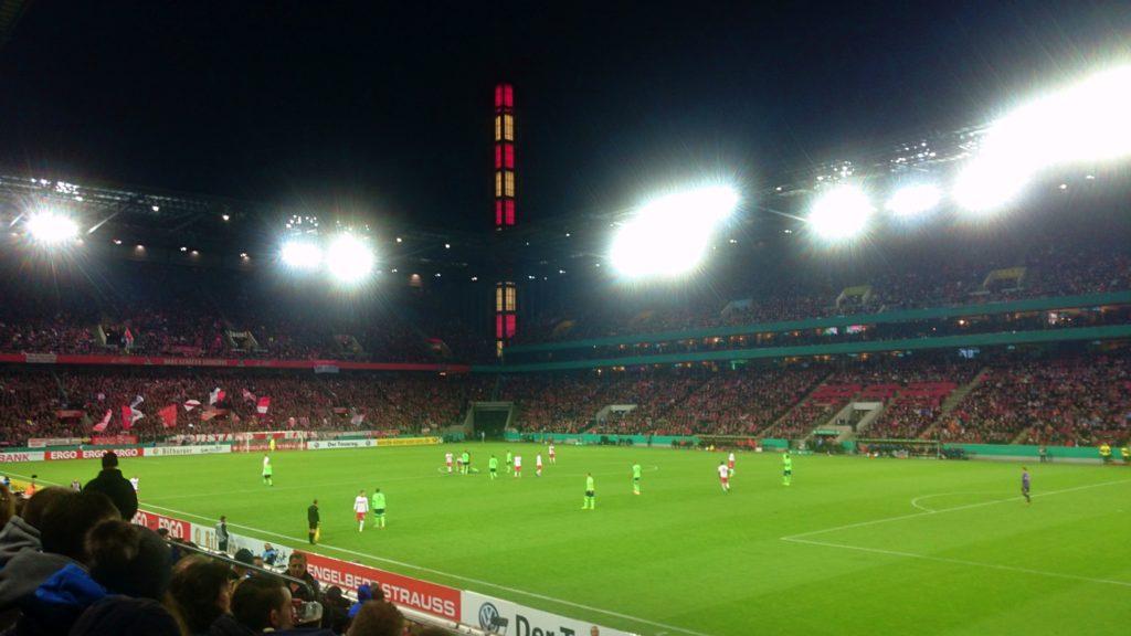 Müngersdorfer Stadion 1. FC Köln vs. Schalke 04