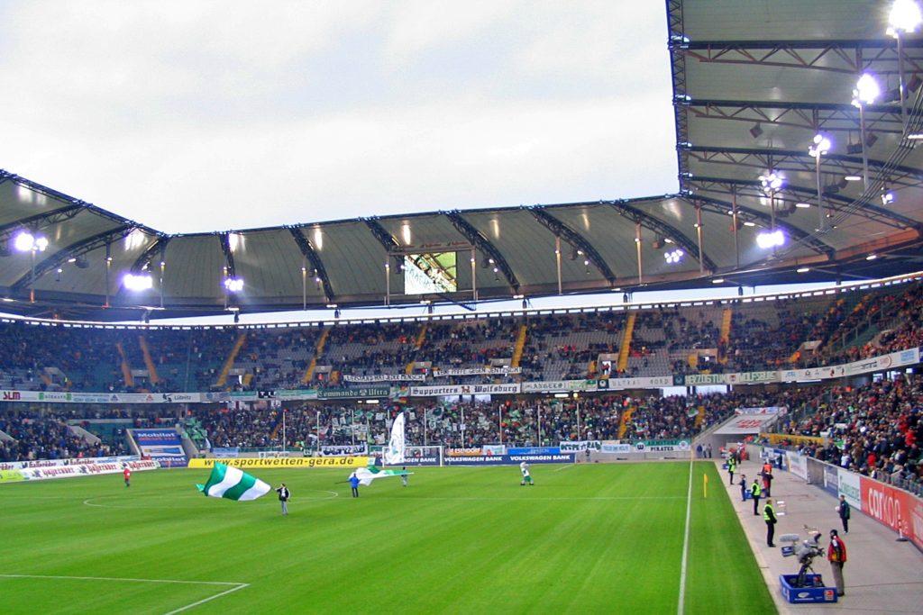 Stadion Wolfsburg FC vs. VfL