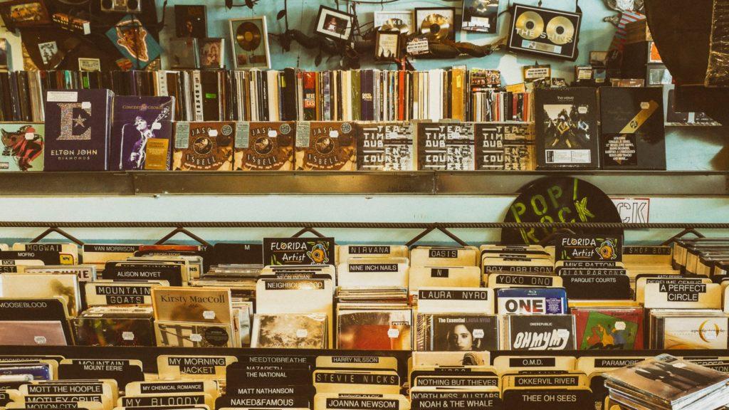 Plattenladen Alben Musik CDs