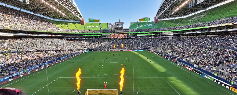 Zlatan Ibrahimovic CenturyLink Field
