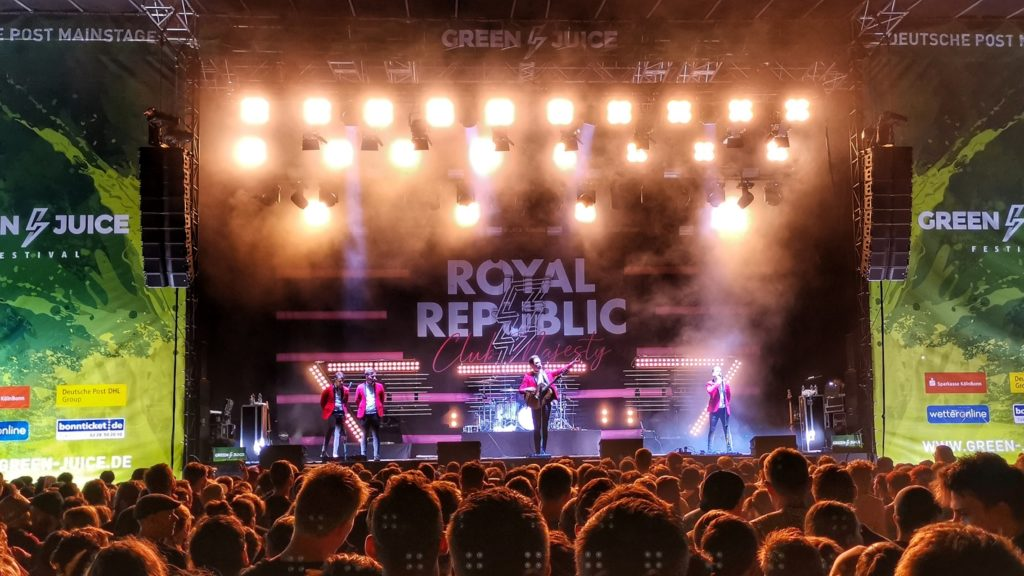 Royal Republic Live at Green Juice Festival
