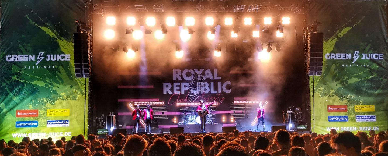 Royal Republic Live at Green Juice Festival