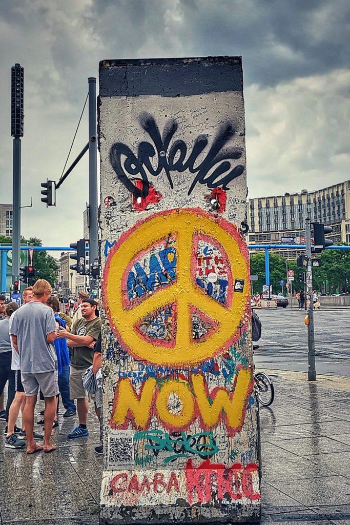 Berliner Mauer Peace Stück
