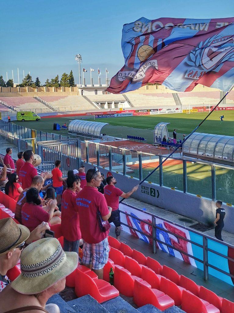 Gzira United Fans Malta