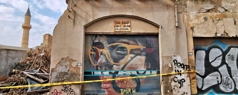 Streetart von Lefkosía bis Lefkoşa (Foto: Ben Fischer / Benanza.Pix)