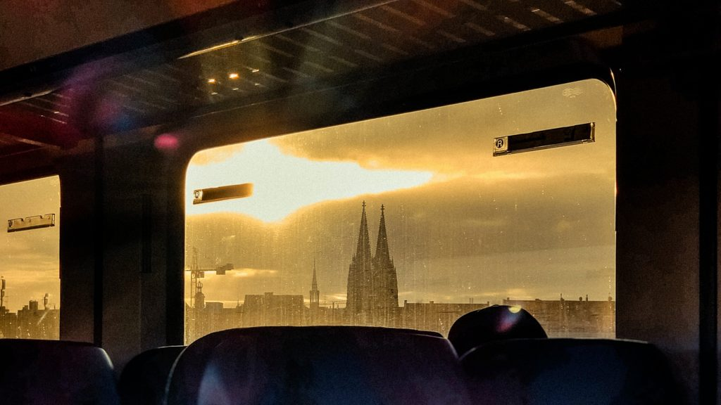 Intercity Bordbistro Köln Dom