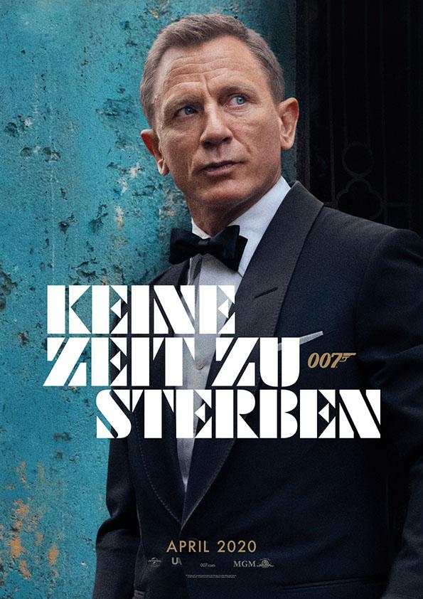 """Kinoplakat James Bond """"Keine Zeit zu sterben"""""""