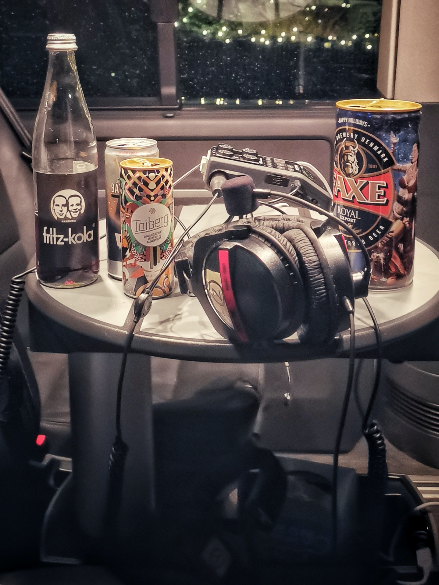 Dosen Bier Energy Drink Headphone