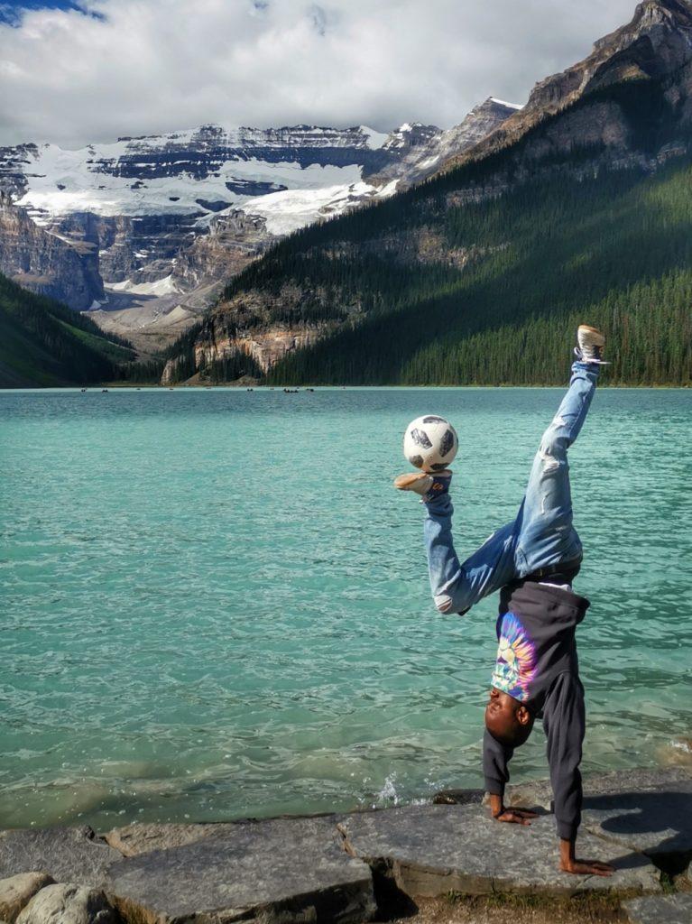 Freestyle Artist at Lake Louise (Benanza.Pix)
