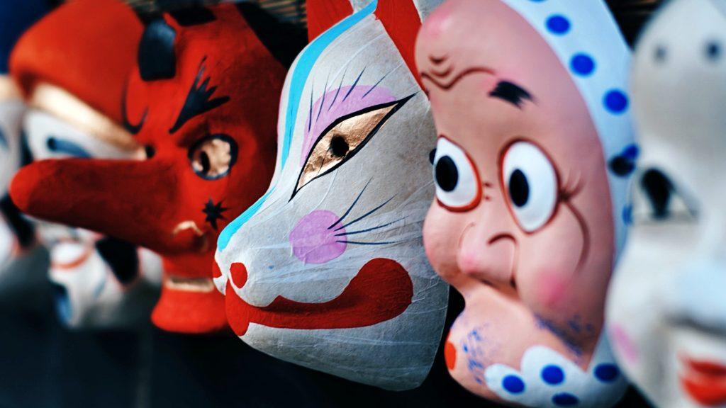 Masken Karneval Japan Finan Akbar