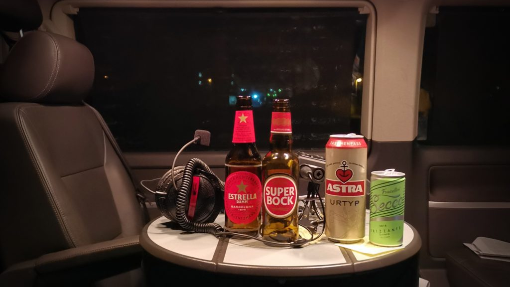 Benanza Bus Bier Prosecco Podcast