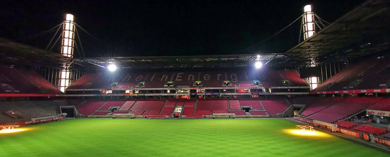 Coronavirus Rheinenergie-Stadion Köln Geisterspiel Bundesliga Benanza.Pix