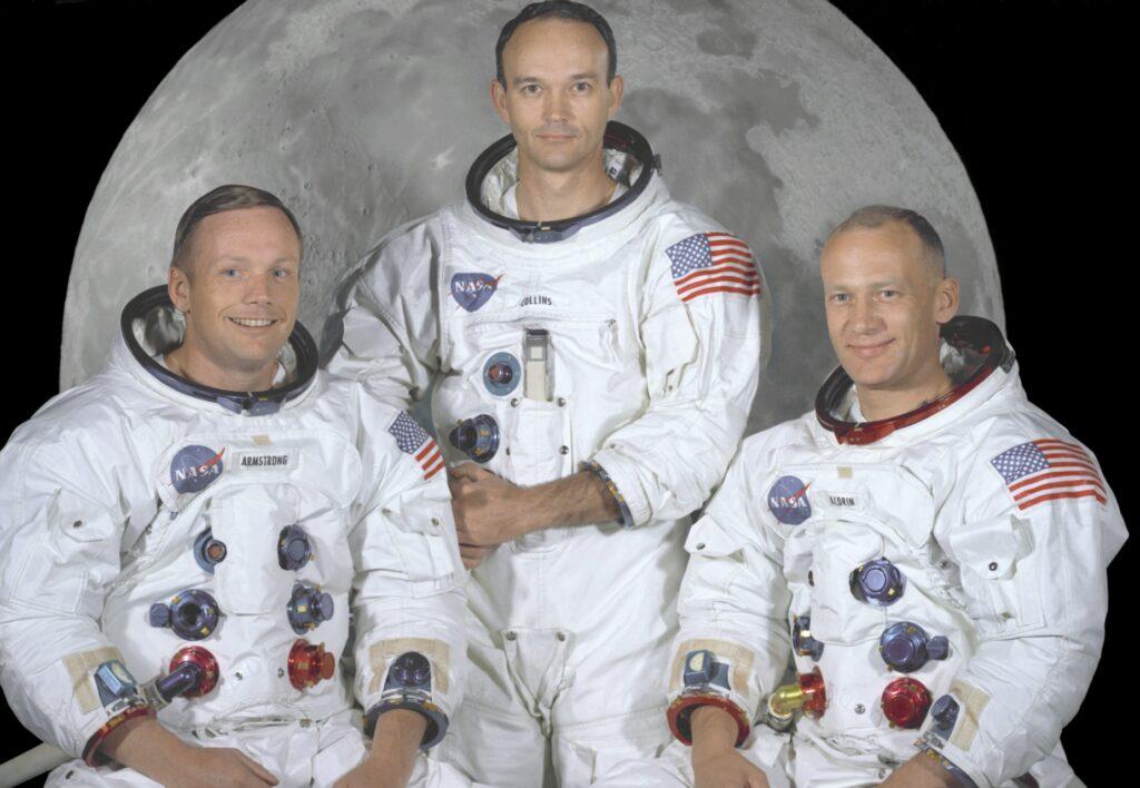 Neil Armstrong, Buzz Aldrin und Michael Collins