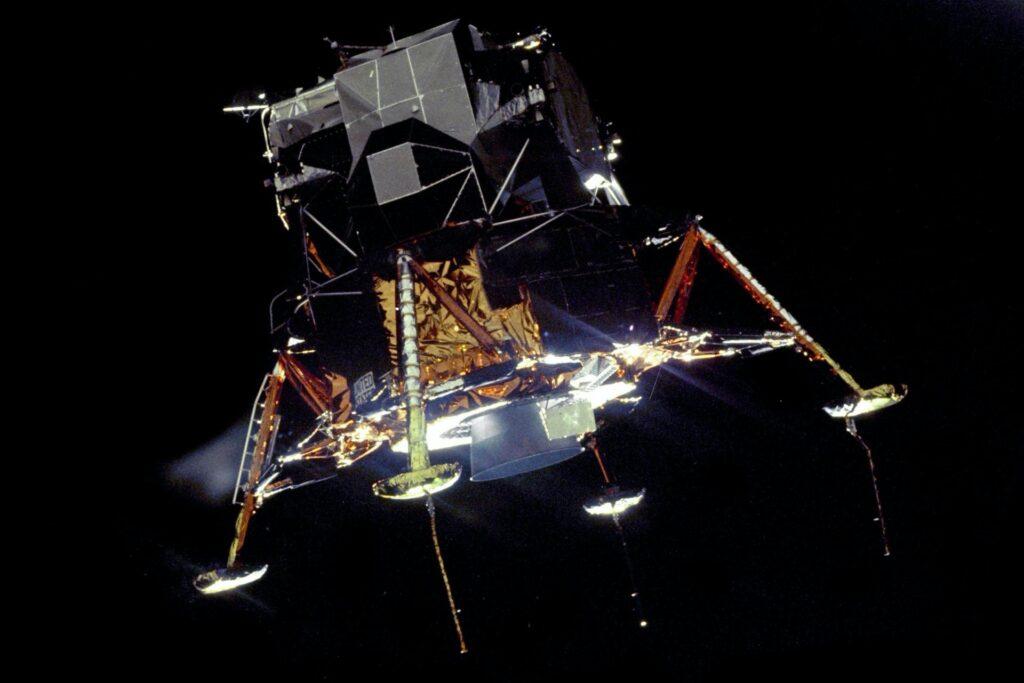 "Landefahrzeug ""Eagle"" Mondlandung NASA"