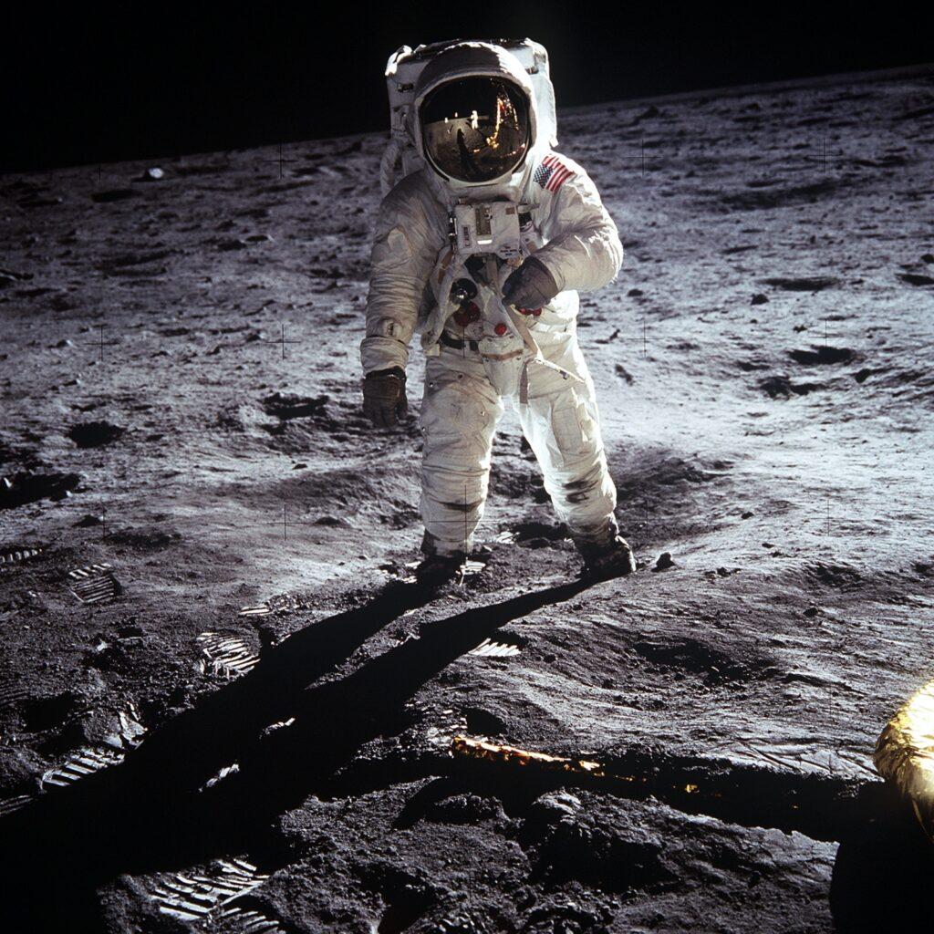 Mond Astronaut Buzz Aldrin NASA