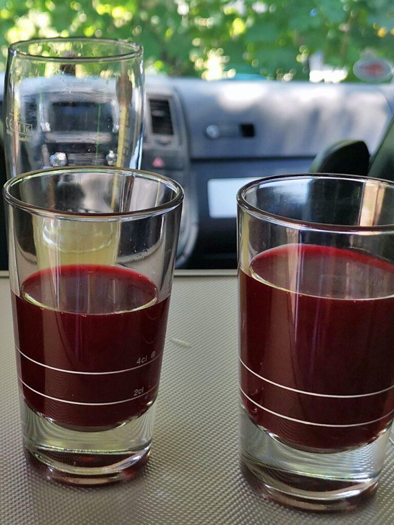 Blutkonserve Getränk Cranberry Saft BenanzaPix