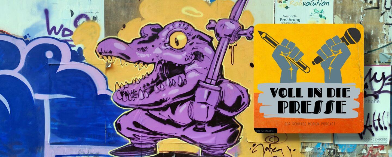 Podcast VIPD Grafitti Stinkefinger