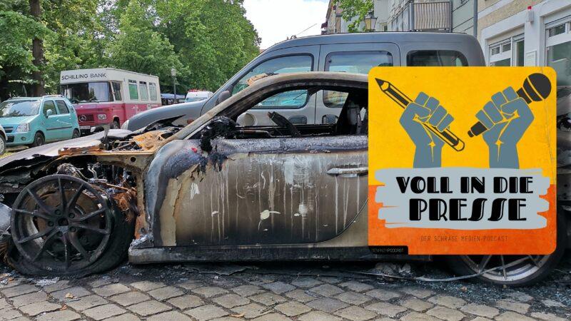 Porsche Berlin Feuer VIDP Podcast Benanza.Pix