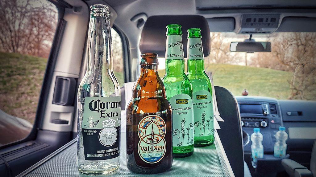 Podcast Bier Voll in die Presse