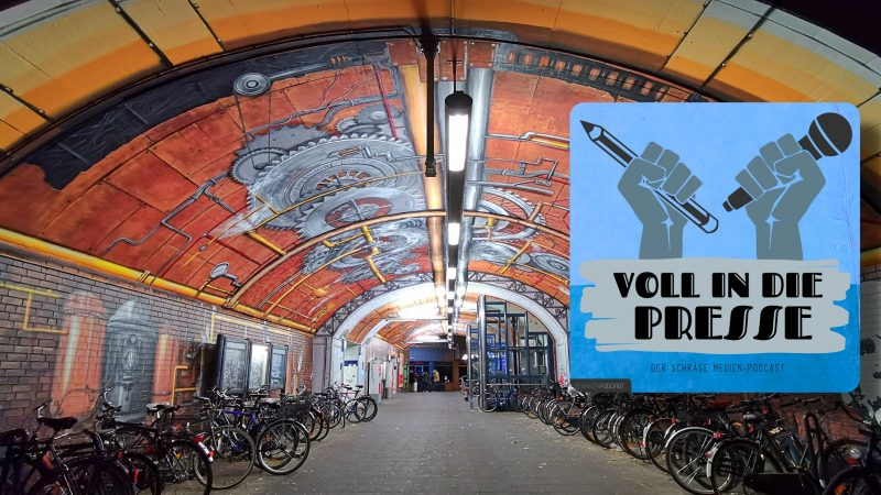 Podcast Cover Voll in die Presse Episode 32 Staffel 2